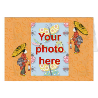 Chinese New Year Vietnamese New Year Tet add photo Cards