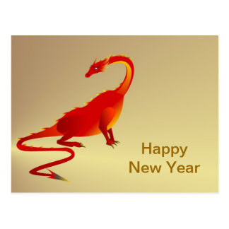 Chinese New Year Vietnamese New Year Tet Year of Post Card