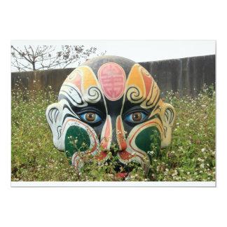Chinese opera mask, Chiayi, Taiwan Custom Announcements