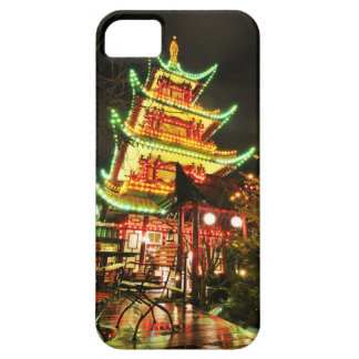 Chinese pagoda at night case for the iPhone 5