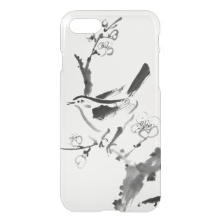 Chinese painting , plum blossom and bird iPhone 8/7 case