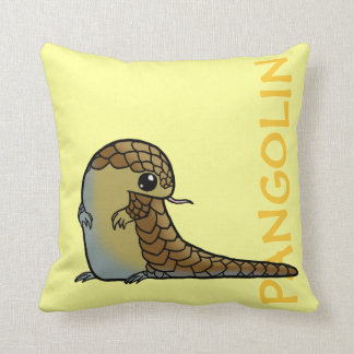 Chinese Pangolin Pillow