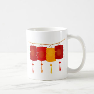 Chinese Paper Lanterns Coffee Mug