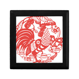Chinese Papercut Rooster Year 2017 box 3