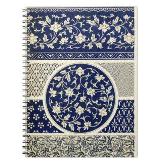 Chinese pattern Notebook