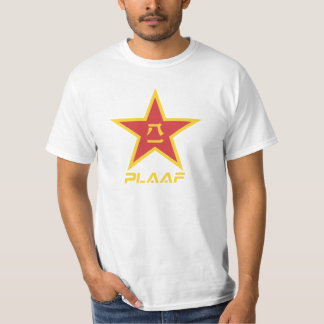 CHINESE PEOPLES LIBERATION ARMY AIR FORCE (PLAAF) T SHIRTS