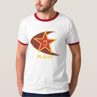 CHINESE PEOPLES LIBERATION ARMY AIR FORCE (PLAAF) T-SHIRTS