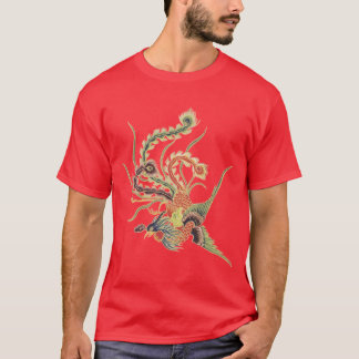 Chinese Phoenix - Fenghuang  Mythological Birds Ar T-Shirt