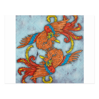 Chinese Phoenix Postcard