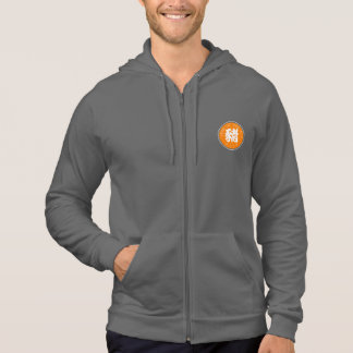 Chinese Pig Year Symbol Orange Circle men Hoddie Hoodie