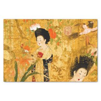 Chinese princesses 10lb Tissue Paper, White Tissue Paper