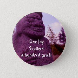 Chinese Proverb flair 6 Cm Round Badge