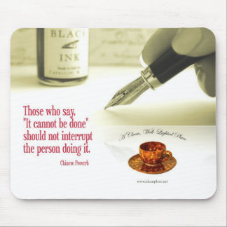 Chinese Proverb Mousepad
