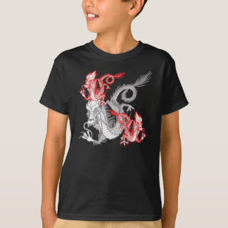 Chinese Red Dragon K T-Shirt