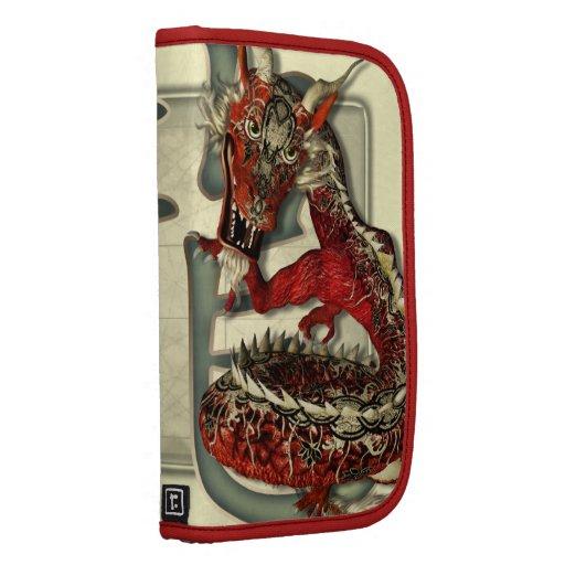 Chinese Red Dragon Organizer