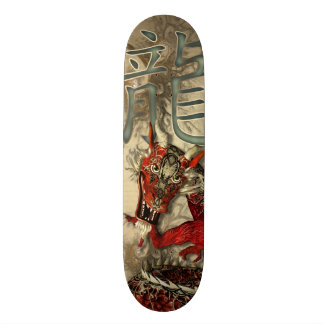 Chinese Red Dragon Skate Deck