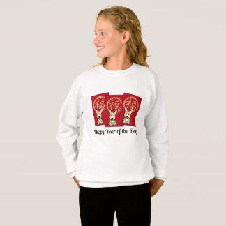Chinese Red Envelope Lucky Corgi Year of the Dog Sweatshirt