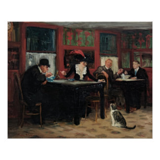 Chinese Restaurant by John Sloan Poster