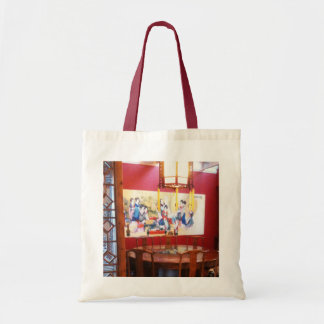 Chinese Restaurant setting Budget Tote Bag