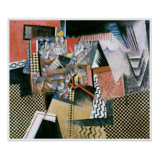 Chinese Restraurant, Max Weber Poster