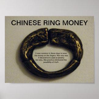 CHINESE RING MONEY Print