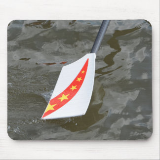 Chinese rowing oar mouse pad