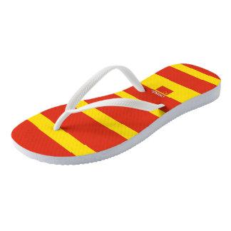 Chinese Samuels Striped Flip Flops