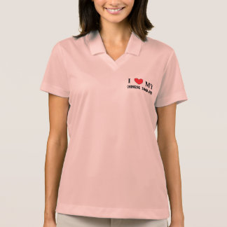 chinese shar love polo shirt
