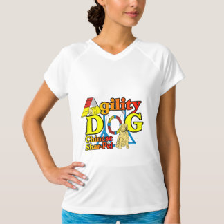 Chinese Shar-Pei Agility Gifts T-Shirt