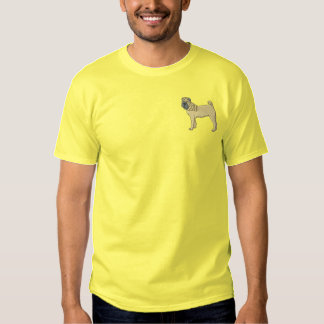 Chinese Shar-pei Embroidered T-Shirt