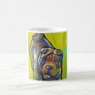 Chinese Shar Pei Pop Art Coffee Mug