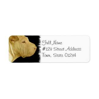 Chinese Shar-Pei Return Address Label
