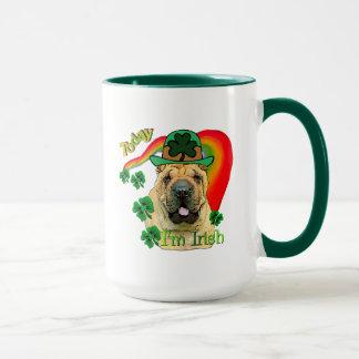Chinese Shar-Pei St. Patrick's Day Mug
