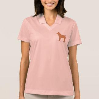 chinese shar silo color polo shirt