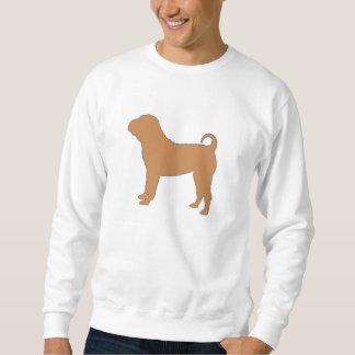 chinese shar silo color sweatshirt