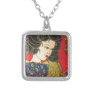 Chinese Silver Plated Necklace
