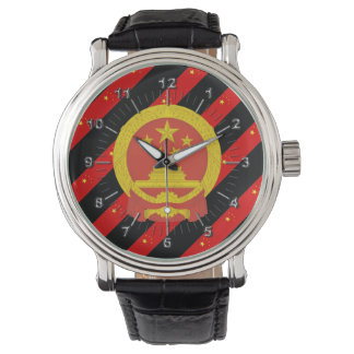 Chinese stripes flag watch