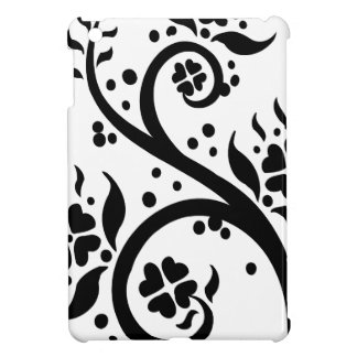 Chinese swirl floral design cover for the iPad mini