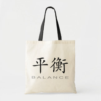 Chinese Symbol for Balance Tote Bag