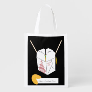Chinese Takeout - Personalized Fortune Reusable Grocery Bag
