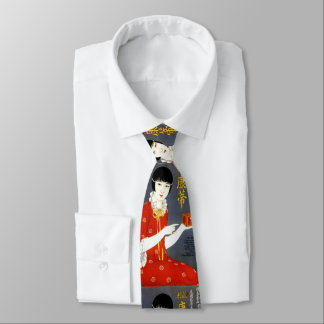 CHINESE TEA AD tie