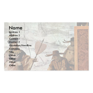 Chinese Textile Merchant Business Card Template