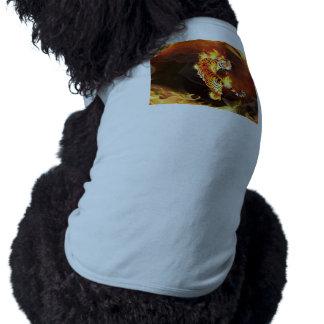 Chinese tiger painting sleeveless dog shirt