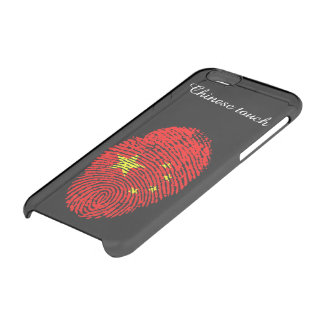 Chinese touch fingerprint flag clear iPhone 6/6S case