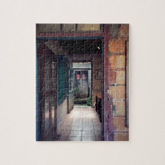 Chinese traditional house and gateway jigsaw puzzle
