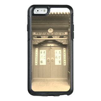 Chinese Traditional Wooden Gate And Calligraphy OtterBox iPhone 6/6s Case