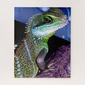Chinese Water Dragon Lizard Jigsaw Puzzle