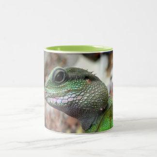 Chinese water dragon Two-Tone mug