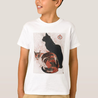 Chinese watercolor cats T-Shirt