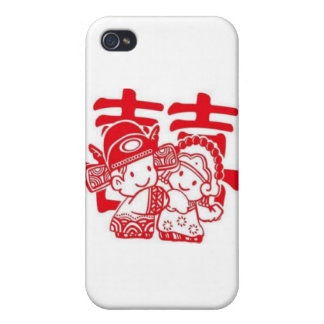 Chinese-wedding accesories iPhone 4/4S cover